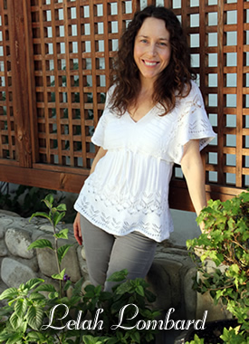 lelah lombard owner of new leaf skin care in ojai valley california